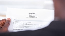 Reading beyond the written resumes